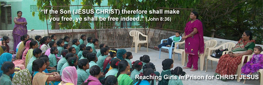 Girls in prison for Christ Jesus