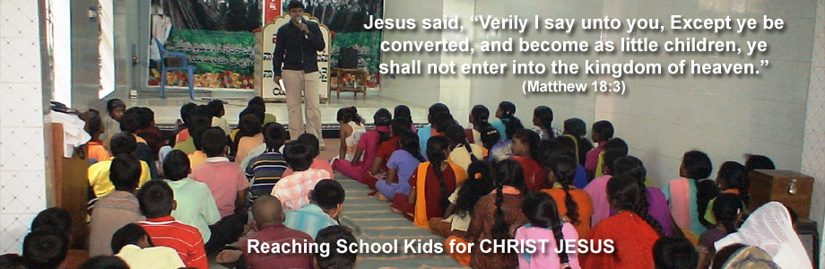 School Kids for Christ Jesus