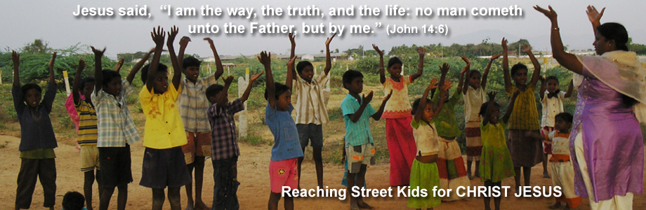 Street Kids for Christ Jesus